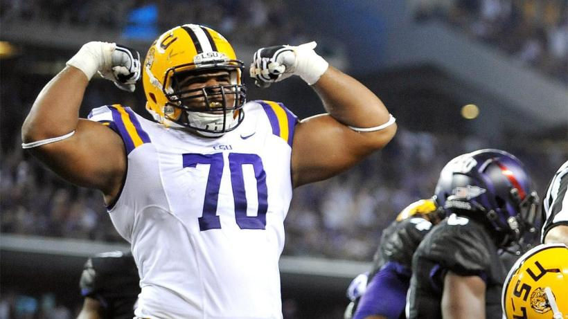Scouting La'el Collins As An Offensive Tackle 1