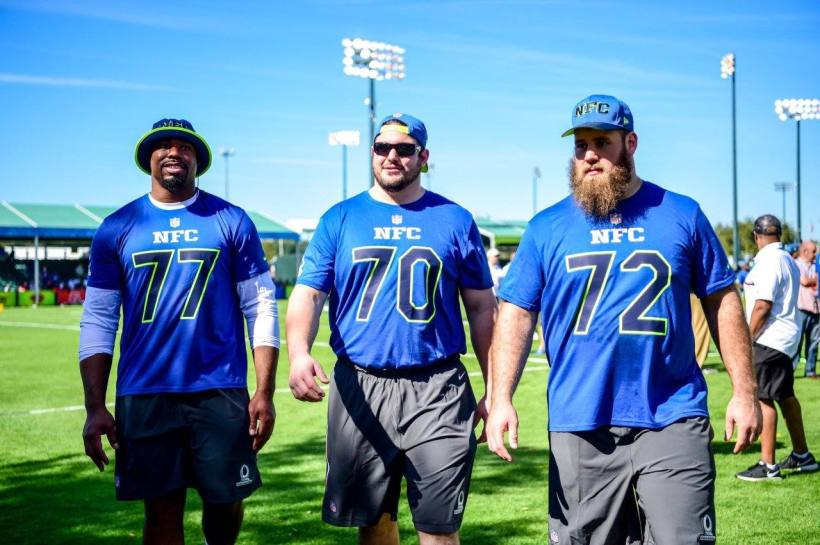 Tyron Smith, Travis Frederick, Zack Martin