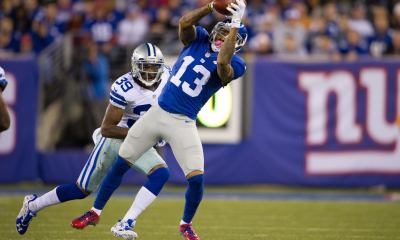 Giants WR Odell Beckham Out versus Cowboys