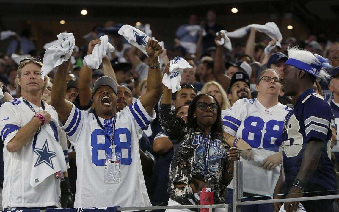 Study Finds Cowboys Nation As NFL's Best Fans