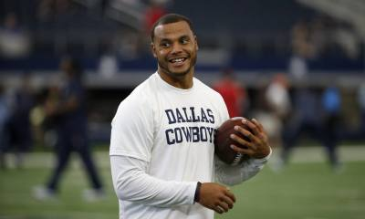 Mr. Steal Your Job; Dak Prescott Replaces Cam Newton With Dannon Yogurt