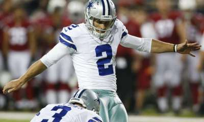 Cowboys To Work Out 4 Kickers With Dan Bailey Injured