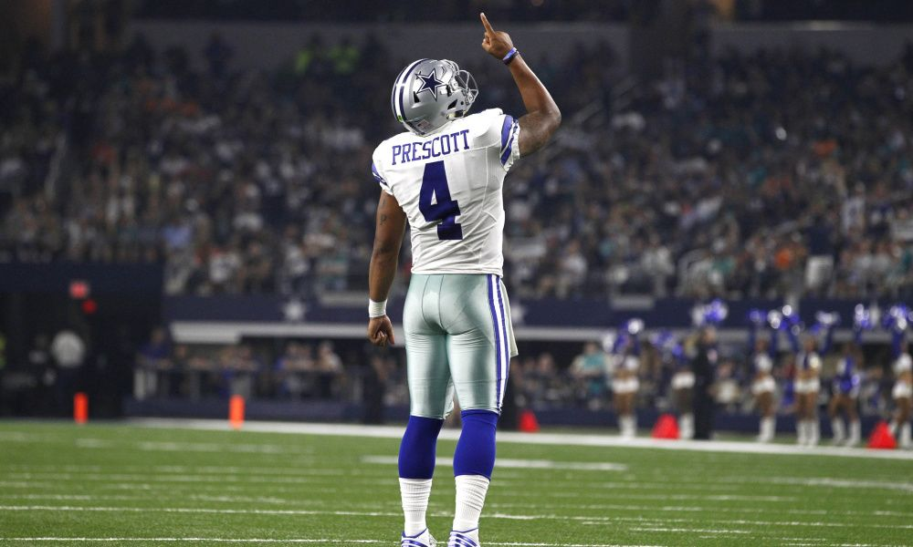 Rod Smith ends Cowboys streak of 10 quarters without TD