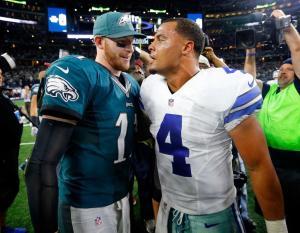 Dak Prescott, Carson Wentz Make Cowboys/Eagles Rivalry Great Again