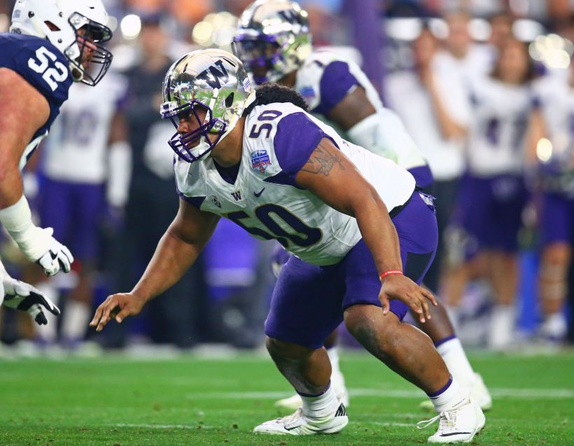 "Report: Cowboys, Rod Marinelli View Washington's Vita Vea as ""Three Down Player"" 1"