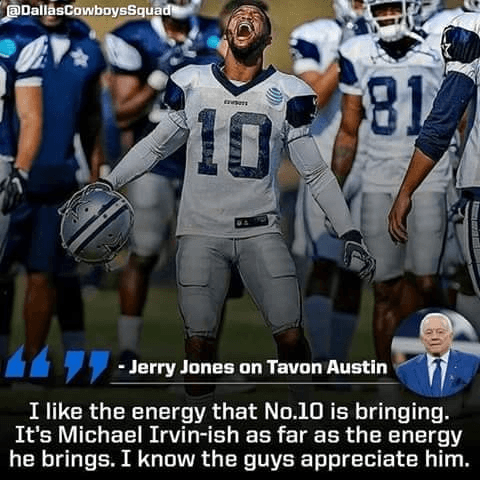 Cowboys WR Tavon Austin Draws Comparison to Dallas Legend