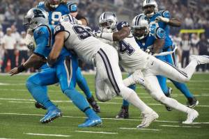 Cowboys Pass Rush Licking Their Chops for Carolina Panthers Matchup