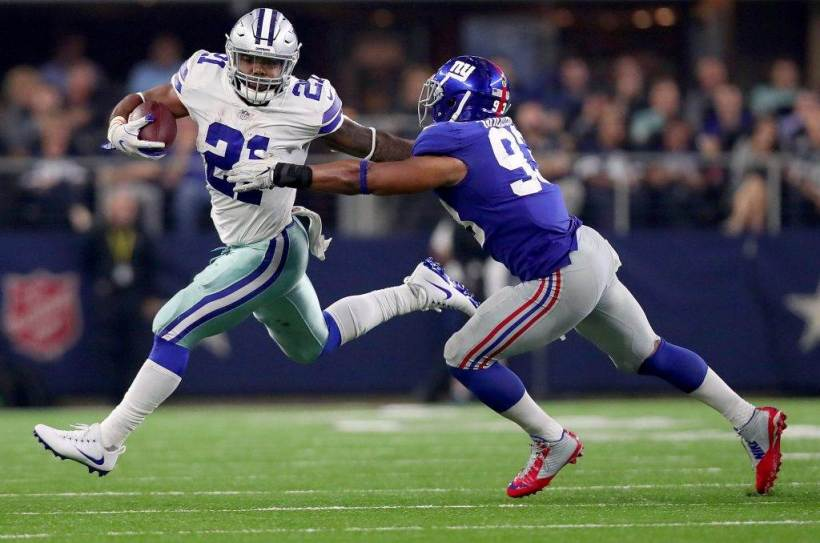New York Giants are 2-1 Against Cowboys With Ezekiel Elliott