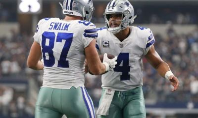 Cowboys TE Geoff Swaim Quietly Exceeding Expectations?