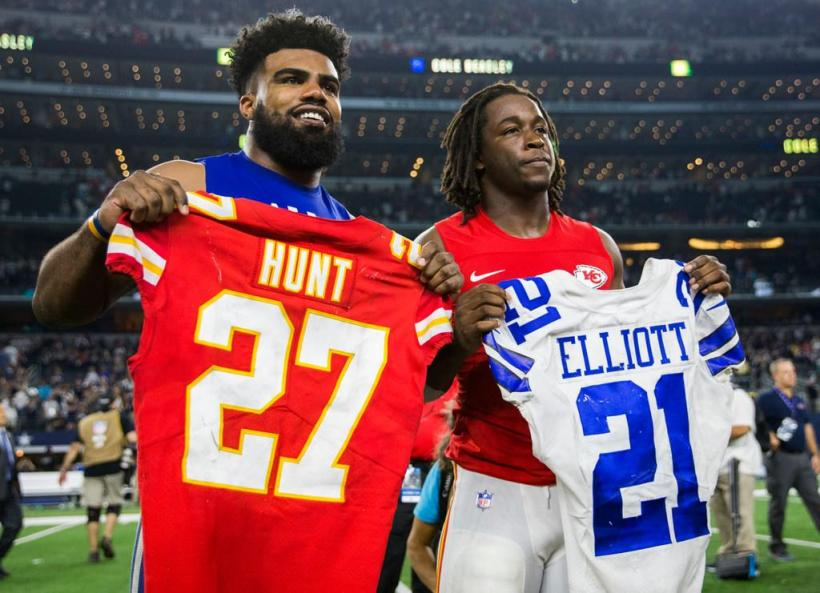 Ezekiel Elliott, Kareem Hunt