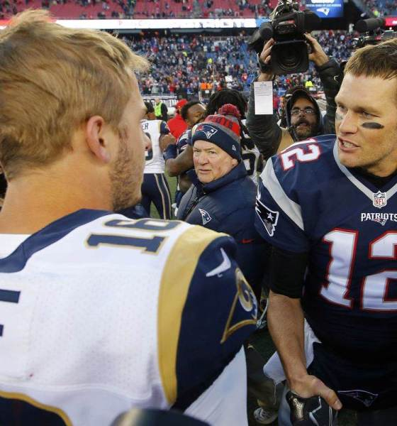Cowboys Chill While Pats & Rams Set to Thrill