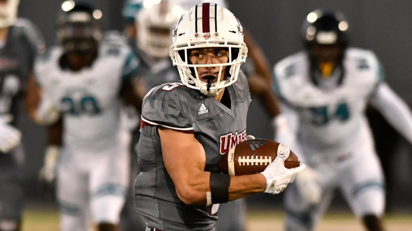 Cowboys Draft Target: Massachusetts WR Andy Isabella