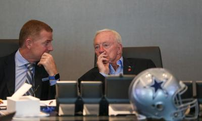 Jason Garrett, Jerry Jones, War Room