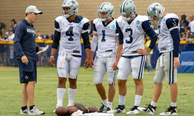 How Will Coaching Changes Impact Cowboys' Backup QB Battle?