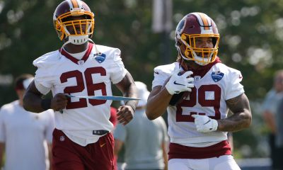 Adrian Peterson, Derrius Guice, Redskins