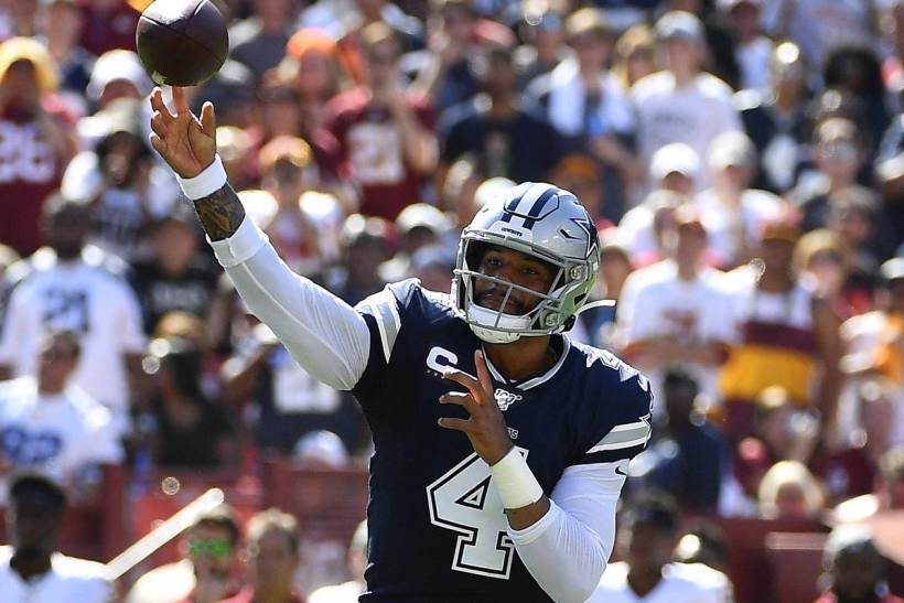 DAL 31, WAS 21: Dak Prescott Dominant In Comfortable Win 1