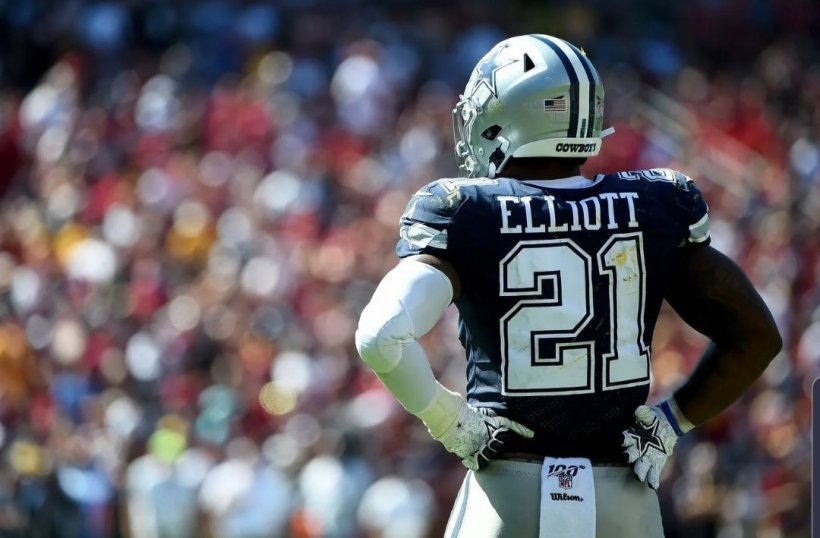 Cowboys RB Ezekiel Elliott Should be rid of all Rust