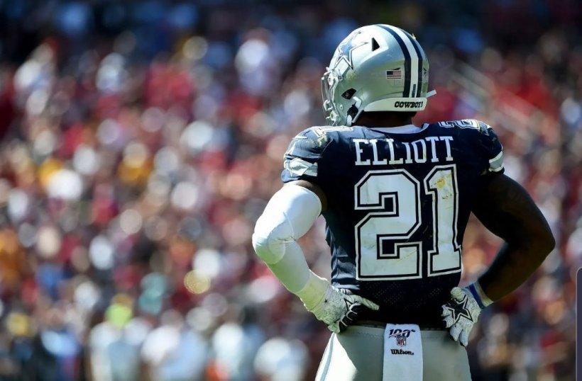 Cowboys RB Ezekiel Elliott Should be rid of all Rust