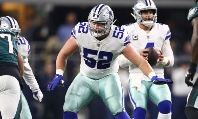 Report: Cowboys G Connor Williams to Undergo Arthroscopic Knee Surgery, Expected to Miss a Few Weeks