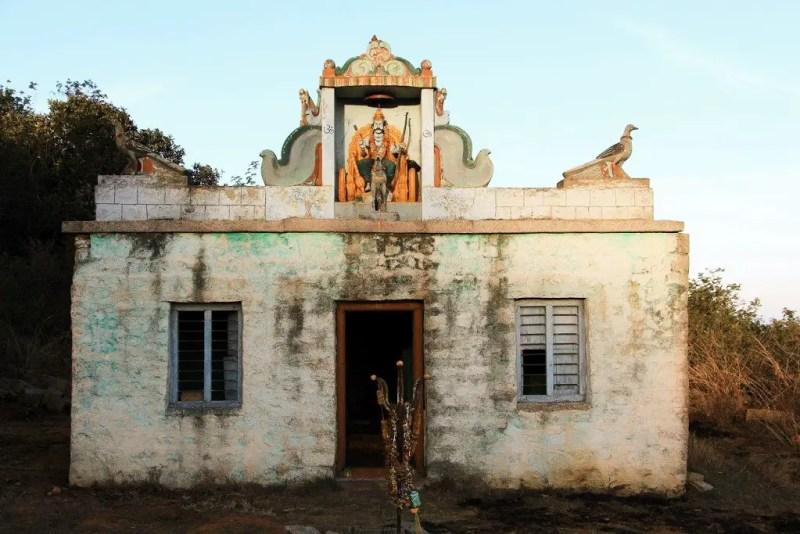 Shani-Eshwara Temple Horagina Betta