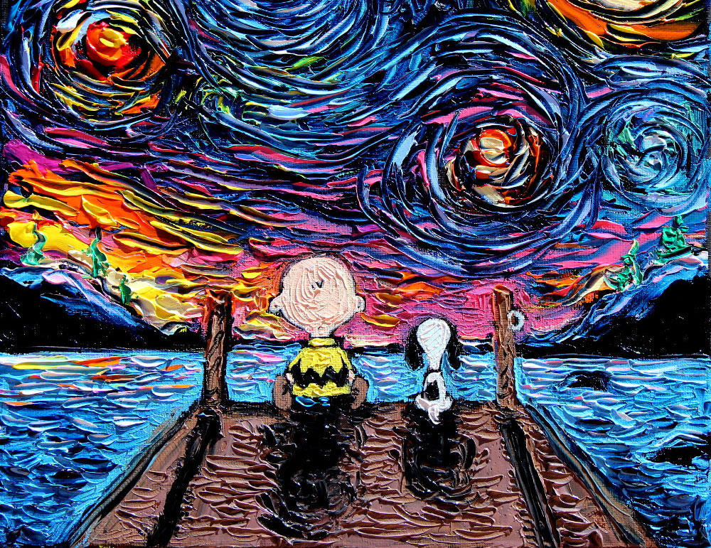 Peanut Starry Night