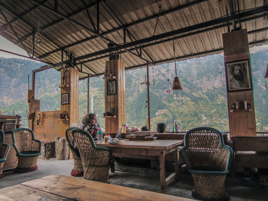 Rocky's Cafe Old Manali