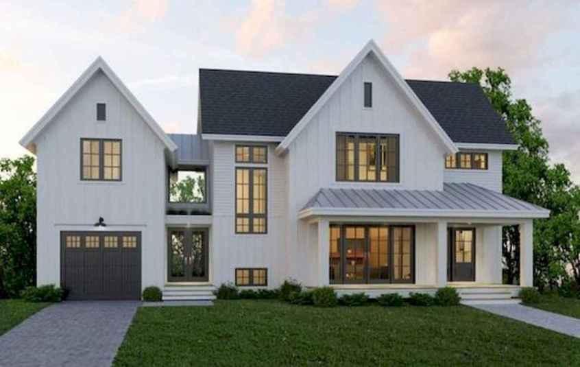 01 Awesome Modern Farmhouse Exterior Design Ideas