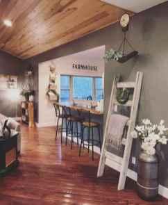 01 Cozy Modern Farmhouse Living Room Decor Ideas