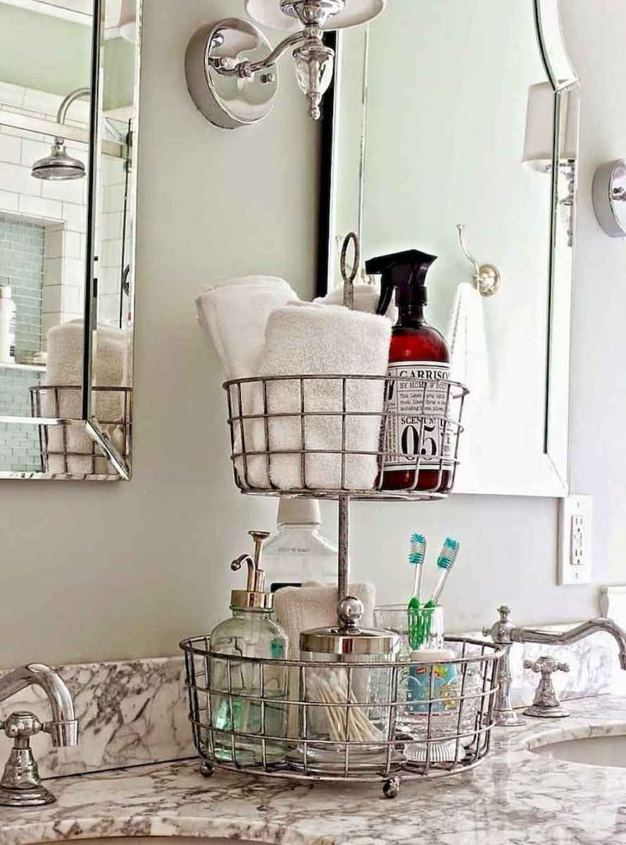 02 Smart Small Bathroom Storage Organization and Tips Ideas