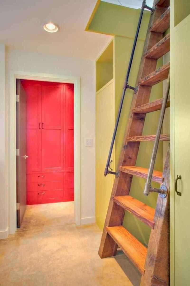 06 Clever Loft Stair Design for Tiny House Ideas