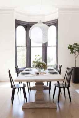07 Beautiful Farmhouse Dining Room Table Design Ideas