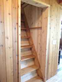 09 Clever Loft Stair Design for Tiny House Ideas
