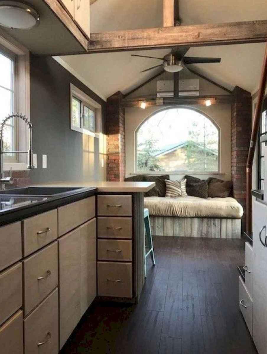 09 Tiny House Kitchen Storage Organization and Tips Ideas