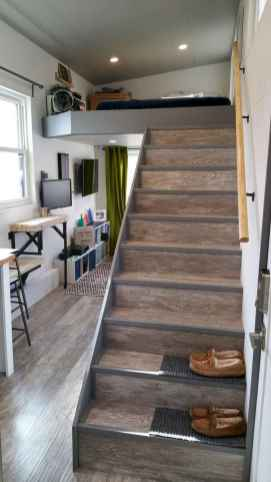 16 Clever Loft Stair Design for Tiny House Ideas