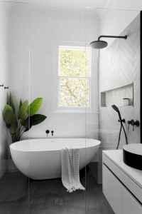 19 Modern Farmhouse Master Bathroom Remodel Ideas