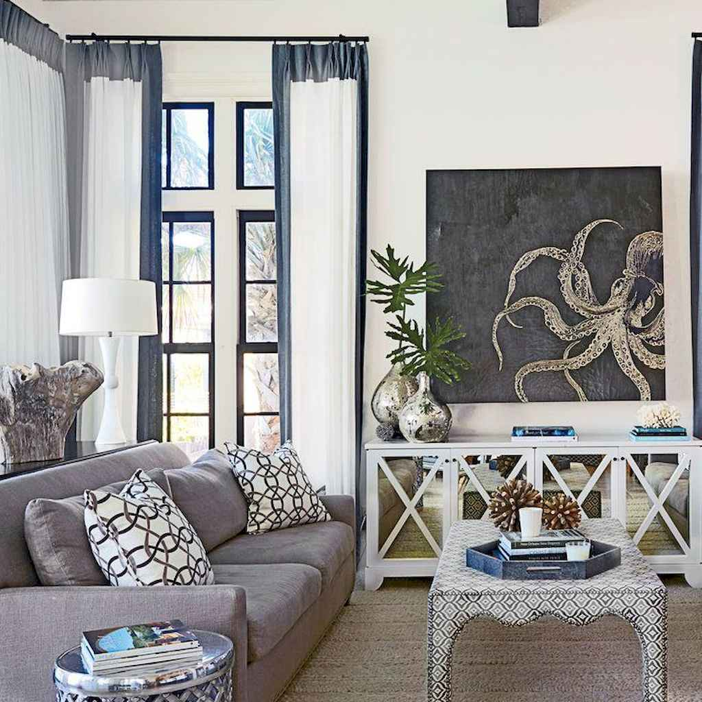 20 Beautiful Coastal Living Room Decor Ideas