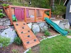 21 Exciting Small Backyard Playground Kids Design Ideas