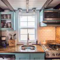 23 Tiny House Kitchen Storage Organization and Tips Ideas