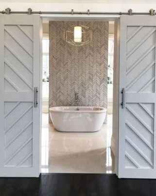 26 Modern Farmhouse Master Bathroom Remodel Ideas
