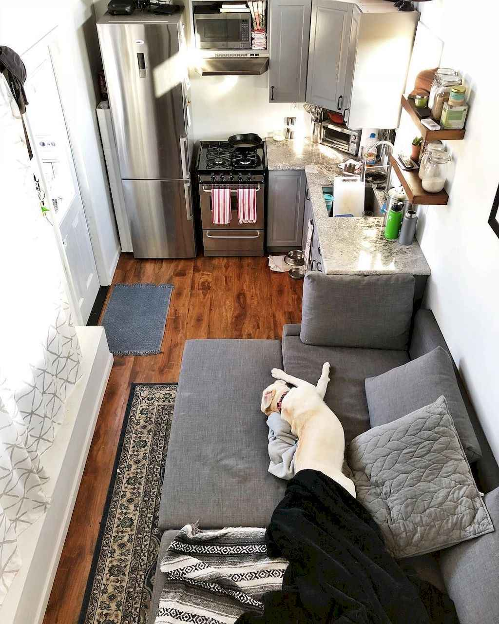 27 Tiny House Kitchen Storage Organization and Tips Ideas