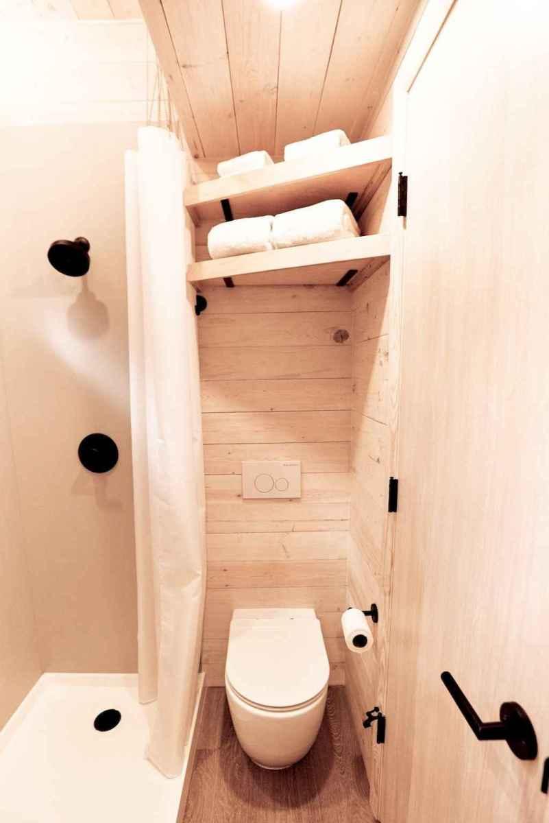 30 Genius Tiny House Bathroom Shower Design Ideas