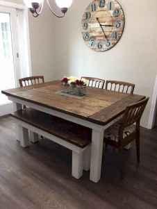 32 Beautiful Farmhouse Dining Room Table Design Ideas