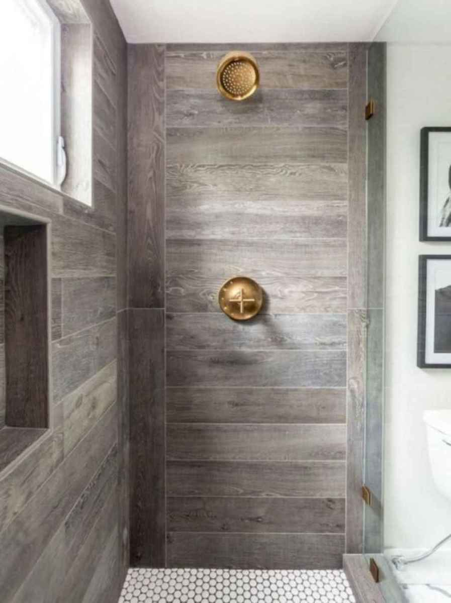32 Cool Bathroom Shower Tile Remodel Design Ideas