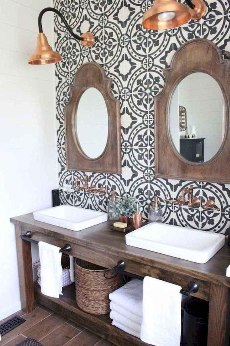 32 Modern Farmhouse Master Bathroom Remodel Ideas