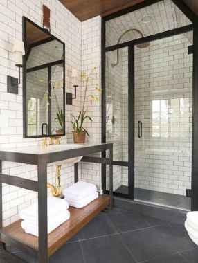 33 Modern Farmhouse Master Bathroom Remodel Ideas