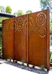 35 DIY Backyard Privacy Fence Design Ideas on A Budget