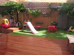 36 Exciting Small Backyard Playground Kids Design Ideas