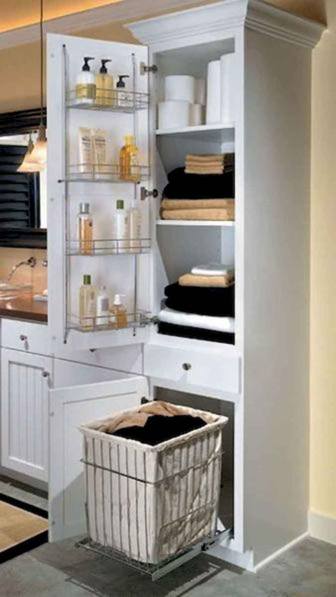 36 Smart Small Bathroom Storage Organization and Tips Ideas
