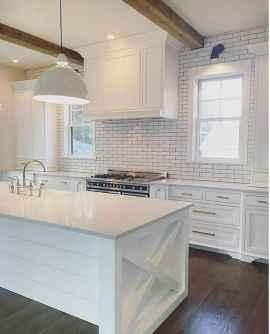 39 Beautiful Farmhouse Kitchen Backsplash Design Ideas