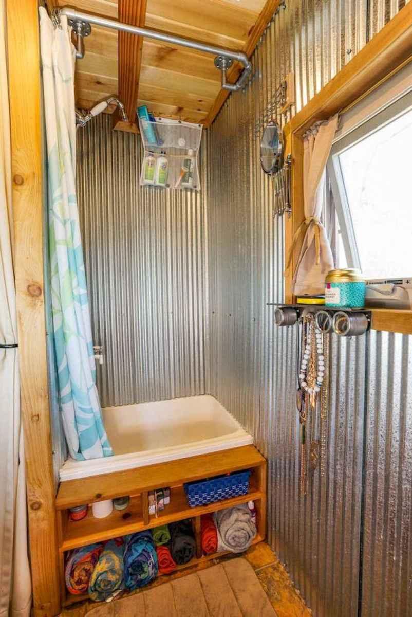 40 Genius Tiny House Bathroom Shower Design Ideas